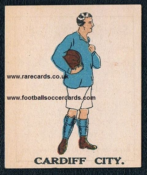 1923 Battock's Cardiff City type I
